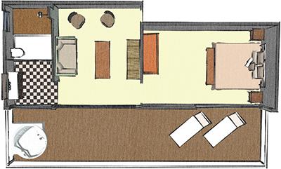 Habitaciones r o ancho for Plano habitacion online